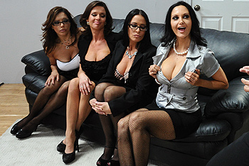 Ava Addams, Francesca Le, Vanilla DeVille big boobs video from Big Tits at Work