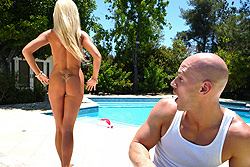 brazzers maureen, pool boy, let me try out your cock