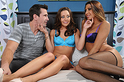 brazzers tara lynn foxx, with gracie in the middle there's some leeway