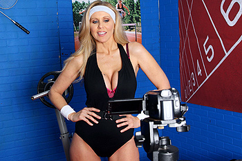 Julia Ann big boobs video from Big Tits in Sports