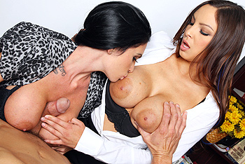 Danni Cole, Emmanuelle London networks video from Brazzers Network