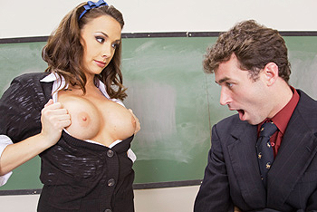 Chanel Preston teen 18+ video from Big Tits At School