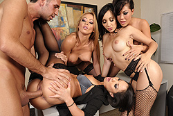 brazzers samantha ryan, office 4-play ii: asian sensation