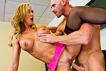 Brandi Love big boobs video from Big Tits at Work