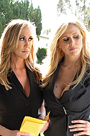 Brandi Love, Julia Ann, Keiran Lee XXX clips