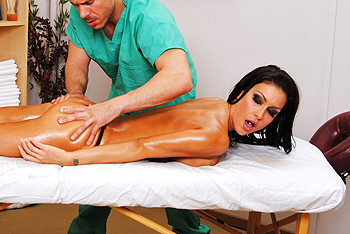 Jessica Jaymes porn stars video from Dirty Masseur