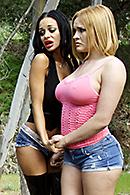 Angelina Valentine, James Deen, Krissy Lynn XXX clips