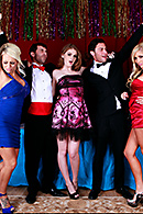 Faye Reagan, Jacky Joy, Tasha Reign, James Deen, Seth Gamble XXX clips