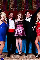Faye Reagan, Jacky Joy, James Deen, Seth Gamble, Tasha Reign XXX clips