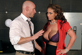 Sexy bdsm office fuck action