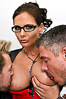 Erik Everhard, Mick Blue, Phoenix Marie on brazzers