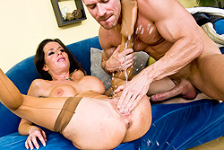 Aletta ocean fucking,sucking and playing with herself