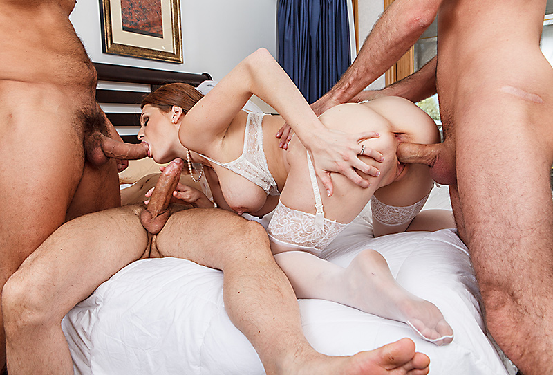 порно невест ебут в чулках