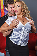 Top pornstar Amber Lynn Bach, James Deen