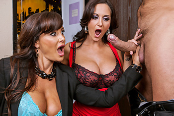 Milfs Like It Big &#8211; Lisa Ann, Ava Addams &#8211; Busted