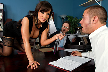 Mommy Got Boobs &#8211; Lisa Ann &#8211; Settling Out of Cunt
