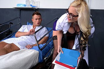 Doctor Adventures &#8211; Alena Croft &#8211; Mammary Lapse