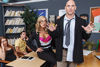 Big Tits at School &#8211; Brandi Love &#8211; Grab &#8216;Em Education