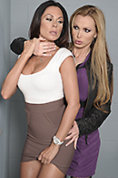 Kirsten Price, Nikki Benz on brazzers