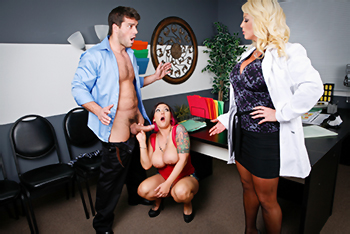 Doctor Adventures &#8211; Claire Dames &amp; Alura Jenson &#8211; We Can Fit You In