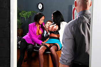 Office Slut Put In Charge