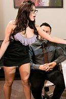 HD porn video Capri Rides Her Staff Hard