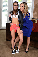 brazzers.com high quality pictures of Bill Bailey, Brandi Love, Riley Reid