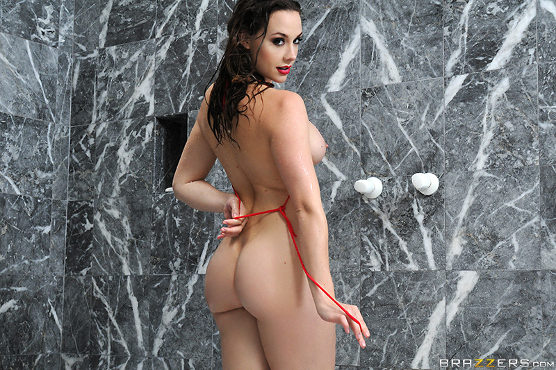 Getting dirty in the shower brazzers