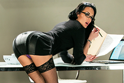 brazzers  			sienna milano		, getting in with the boss