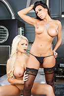 brazzers.com high quality pictures of Alexis Ford, Clover, Rachel Starr