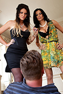 Top pornstar Emma Leigh, Jasmine Jae, Matt Ice