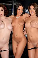 brazzers.com high quality pictures of Abby Cross, Mary Jane Mayhem, Rahyndee James, Van Wylde