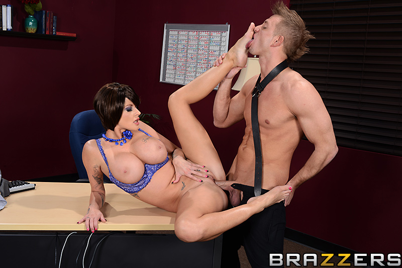 Joslyn james footjob