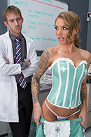 HD porn video Dr. D And The Double D Nurse