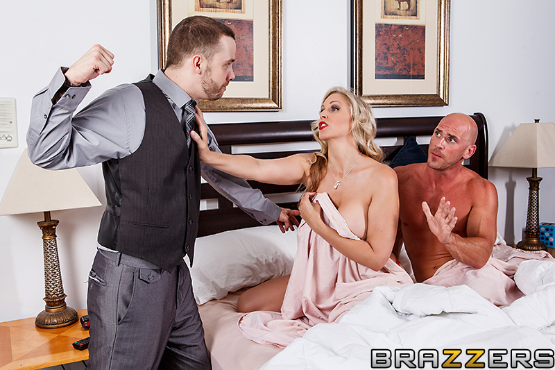Stepson and friend seduce hot german stepmom to threesome 3