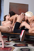 Nikita Von James, Janice Griffith, Zoey Foxx05