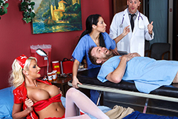 brazzers  			sienna milano		, healing touch