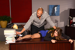 brazzers  			sienna milano		, corporate rubdown