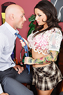Top pornstar Charity Bangs, Johnny Sins