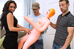 brazzers  			sienna milano		, i'll be your blow-up doll