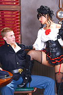 Richie Black, Rose Monroe on brazzers