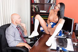 brazzers  			sienna milano		, prom whore wars : part one