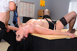 brazzers  			sienna milano		, lie dicktector