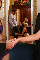 HD porn video DP at the Euro Swinger Sex Party