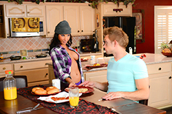 brazzers  			sienna milano		, secret wifeswap weekend: part one
