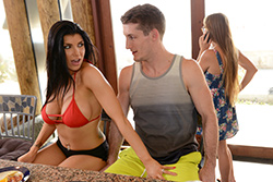 brazzers , lost on vacation san diego part two