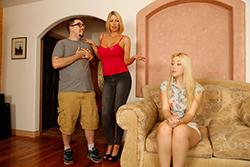 brazzers  			sienna milano		, banging for mom's approval