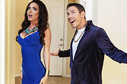 brazzers  			sienna milano		, married to the mob part one