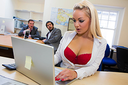 brazzers  			sienna milano		, work it