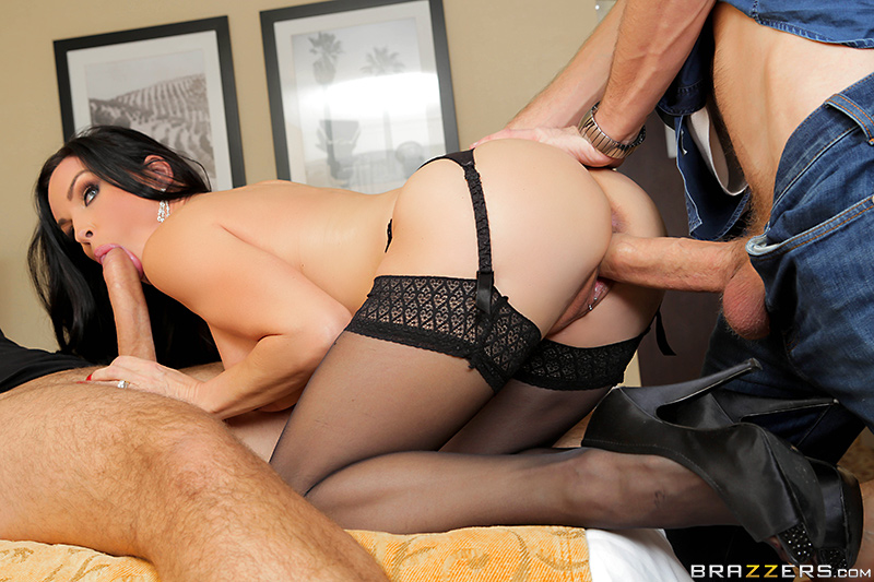 Deep Cover...Deeper Throat - Diamond Foxxx, Danny D & Keiran Lee